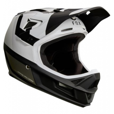 CASCA FOX RAMPAGE PRO CARBON HELMET PREEST WHITE/BLACK