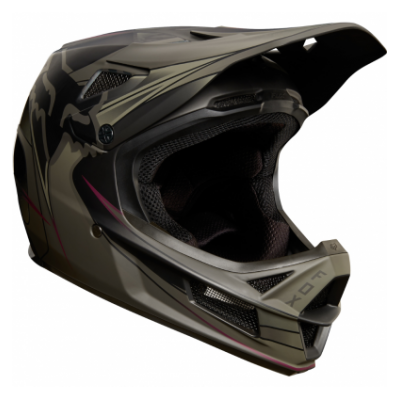 CASCA FOX RAMPAGE PRO CARBON HELMET KUSTM FATIGUE/BLACK