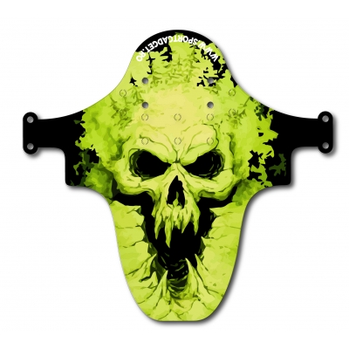 Aparatoare Furca/Cadru Sportgadget Green Skull