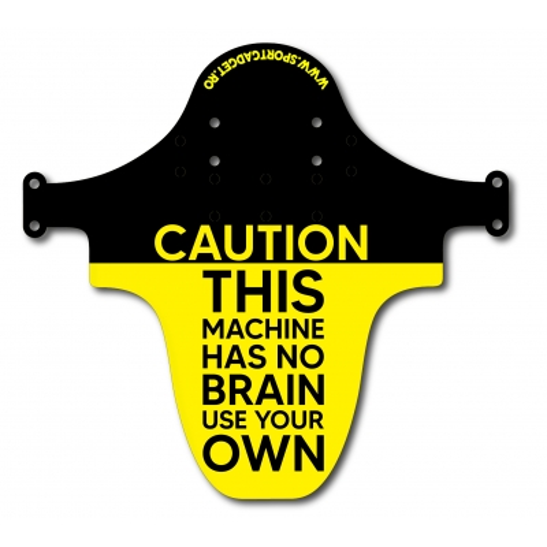 Aparatoare Furca/Cadru Sportgadget Caution Yellow
