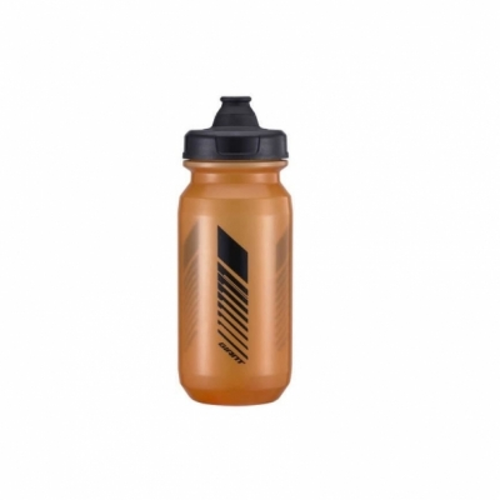 Bidon GIANT CleanSpring 600ml, Transparent Gri / Portocaliu