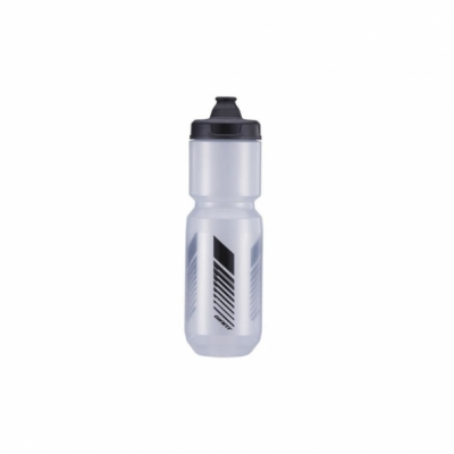 Bidon GIANT CleanSpring 750ml, Transparent Gri / Negru