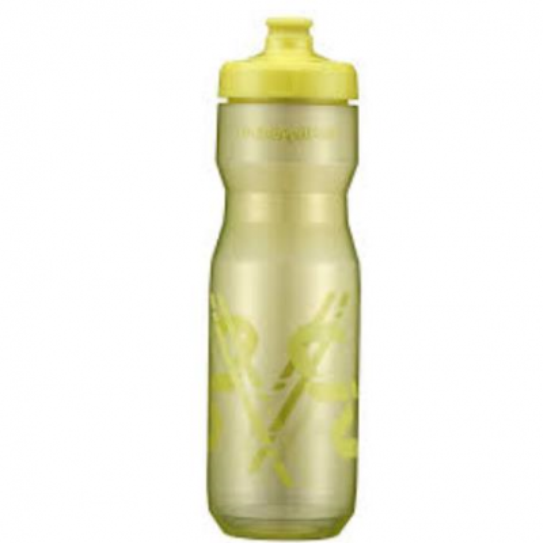 Bidon GIANT LIV Doublespring 750 ml Verde/Galben