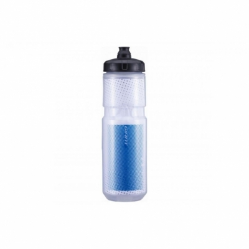 Bidon Giant Evercool Thermo Transparent/Blue 600 ml