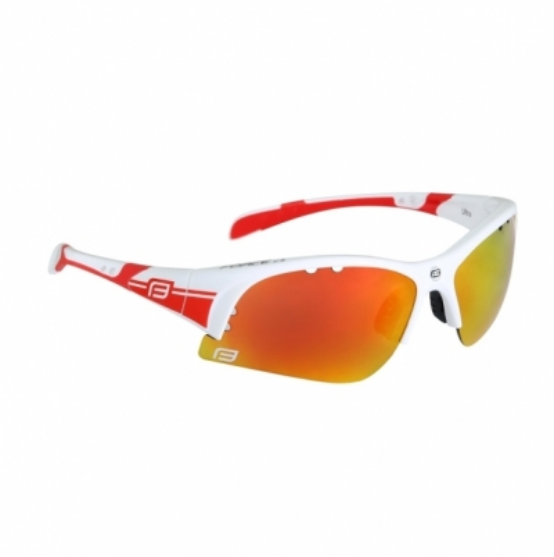 Ochelari Force Ultra albi cu lentila rosie 2017