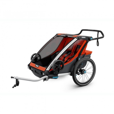 Carucior multisport Thule Chariot Cross 2 - Roarange/Dark Shadow