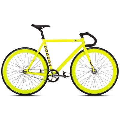 Bicicleta Drag One Fixie 28'' Galben/Mov 2016