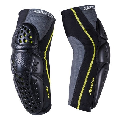 Protectii brate Alpinestars Vento Elbow Protector black/acid yellow