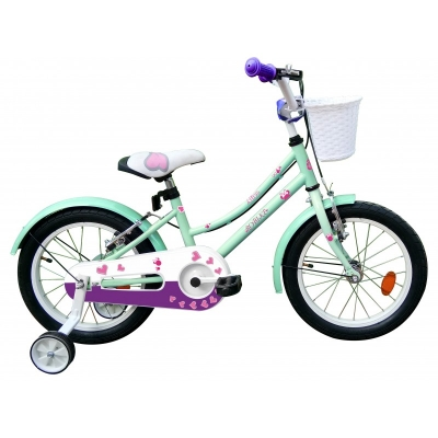 Bicicleta Robike Alice 16'' turquise/violet