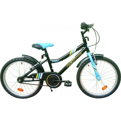 Bicicleta Ronny 20'' negru/albastru