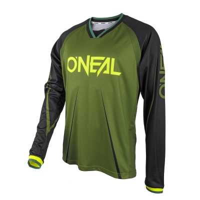 JERSEY O'NEAL ELEMENT FR BLOCKER NEGRU/VERDE