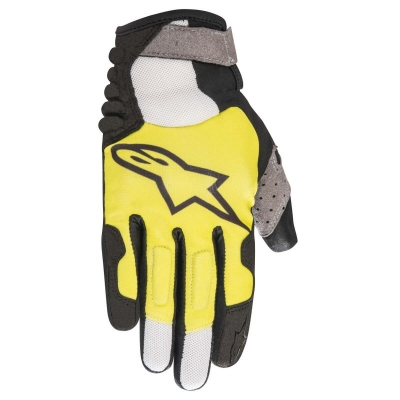 Manusi Alpinestars Linestorm black/acid yellow