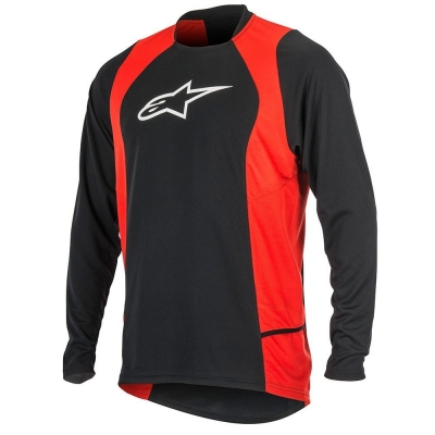 Jersey Alpinestars Drop 2 long Sleeve Jersey black/red
