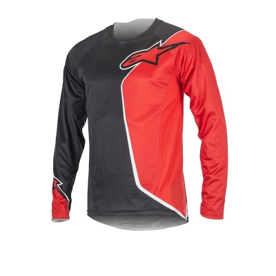Jersey Alpinestars Sierra Long Sleeve Jersey black/red
