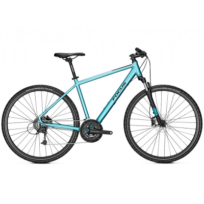 Bicicleta Focus Crater Lake 3.8 DI 27G 28'' Ice Blue Mat 2019