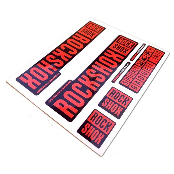 Bicicleta Robike Racer 16'' galben neon/ albastru