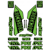 Set Stickere Furca RockShox Pike / Lyrik / Yari / Boxxer Verzi