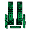 Stickere RockShox Boxxer V1 Decal Kit Black/Green