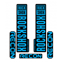 Stickere RockShox Recon V1 Decal Kit Black/Cyan