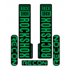 Stickere RockShox Recon V1 Decal Kit Black/Green