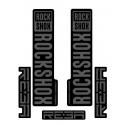 Stickere RockShox Reba V1 Decal Kit Black/Grey