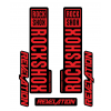 Stickere RockShox Revelation V1 Decal Kit Black/Red