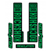 Stickere RockShox Revelation V1 Decal Kit Black/Green