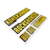 Stickere RockShox Pike V1 Decal Kit Black/Yellow