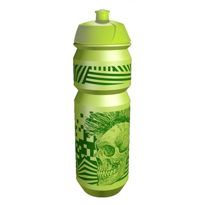 Bidon RIESEL - Skull Green 750mL