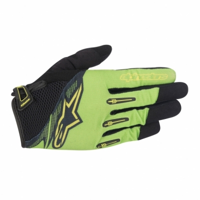 Manusi Alpinestars Flow Glove bright green black