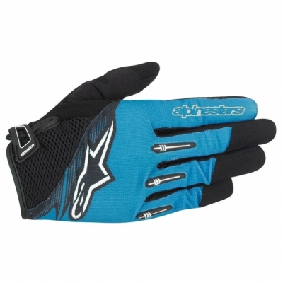 Manusi Alpinestars Flow Glove bright blue black