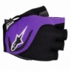 Manusi Alpinestars Pro-Light Short Finger black plum