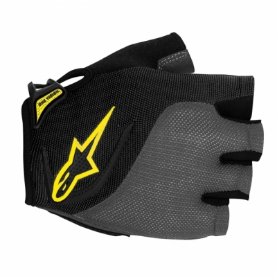 Manusi Alpinestars Pro-Light Short Finger black gray yellow