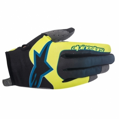 Manusi Alpinestars Vector acid yellow/black