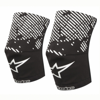 Sosete protectie genunchi Alpinestars MTB Knee Sock black/white