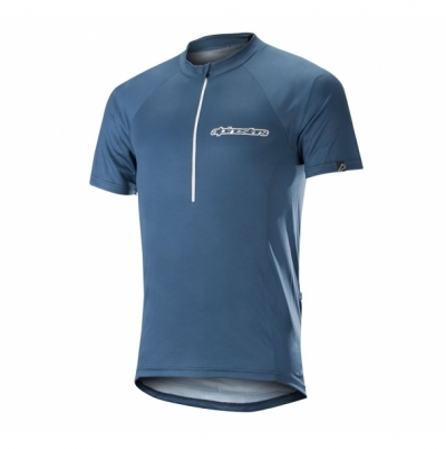 Tricou Alpinestars Elite S/S Jersey poseidon bl white