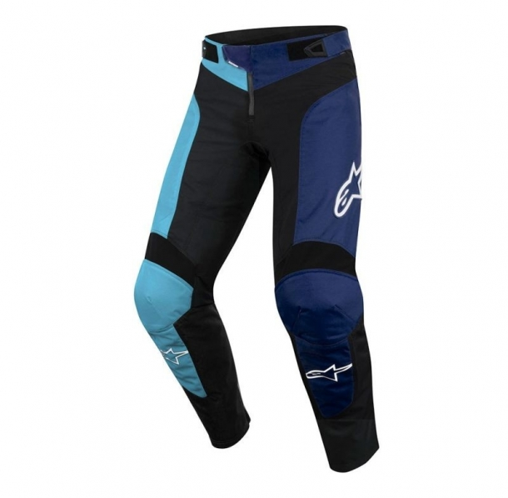 Pantaloni Alpinestars Vector black/atoll blue