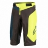 Pantaloni scurti Alpinestars Vector black/acid yellow