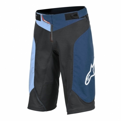 Pantaloni scurti Alpinestars Vector black/atoll blue