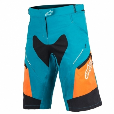 Pantaloni Alpinestar Stella Drop 2 ocean/bright orange
