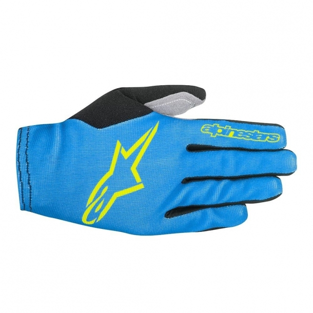 Manusi Alpinestars Aero 2 bright blue/acid yellow