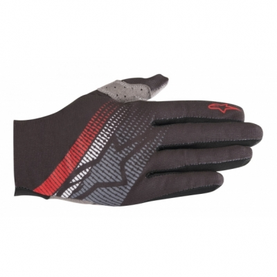 Manusi Alpinestars Predator black/steel gray/red