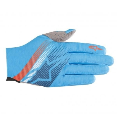 Manusi Alpinestars Predator bright blue/poseidon/orange