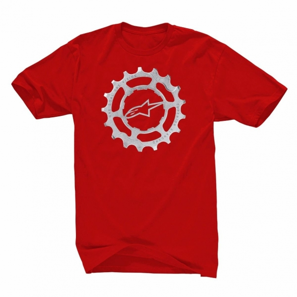 Tricou Alpinestars Forged Tee red