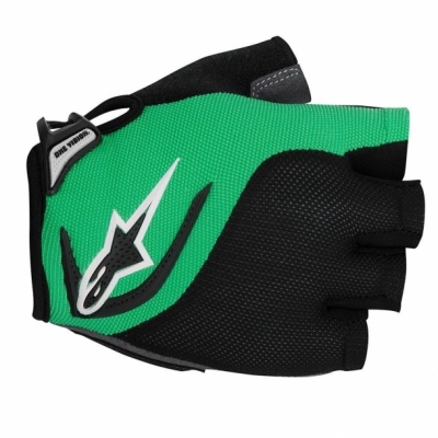 Manusi Alpinestars Pro-Light Short Finger black bright green
