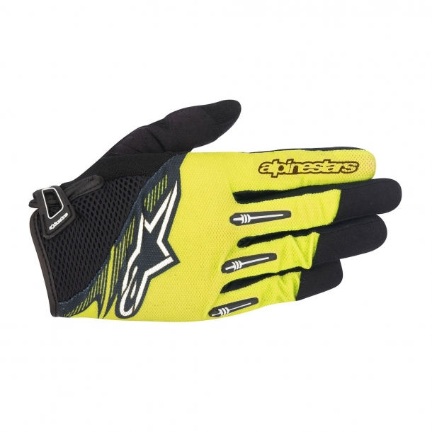 Manusi Alpinestars Flow Glove acid yellow black