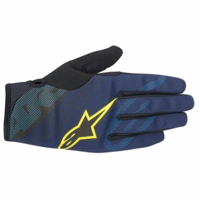 Manusi Alpinestars Stratus deep blue/acid yellow