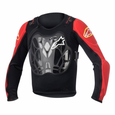 Armura Alpinestars Youth Bionic MTB Jacket black/red