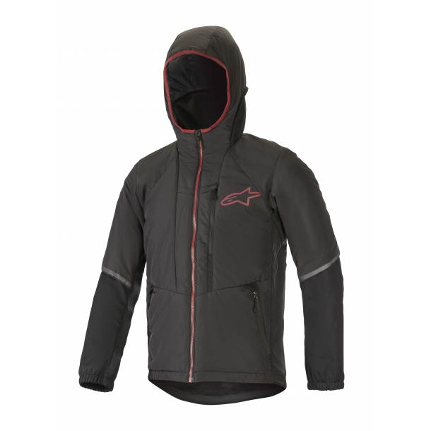 Jacheta Alpinestars Denali Black Rio Red