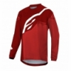 Bluza Alpinestars Youth Racer Factory LS Burgundy Red White